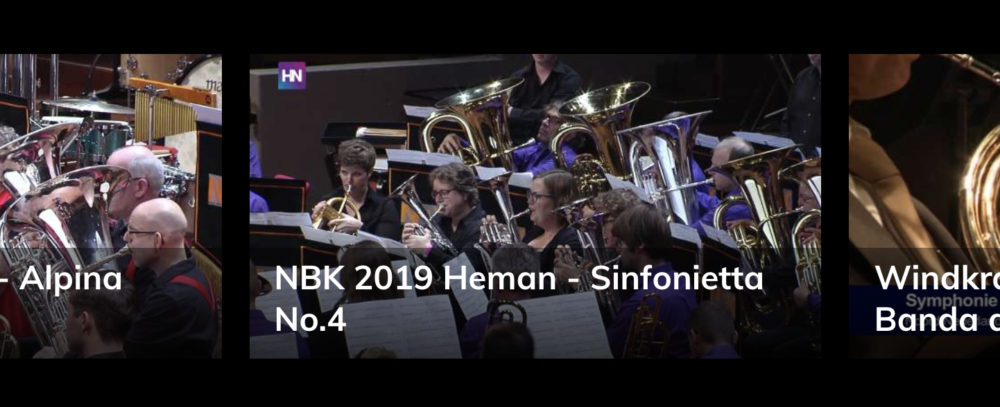 NBK Sinfonietta No.4 Brassband Heman
